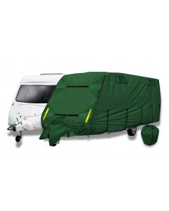 Caravan Cover PRO - A Breathable 4 Ply Storage Cover with Free Hitch Cover