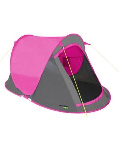 Yellowstone Fast Pitch 2 Man Pop Up Tent - Pink