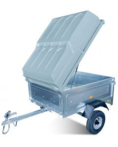Lockable ABS Hard Trailer Cover - Suits Towsure 369 Trailer