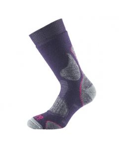 1000 Mile 3 Season Walk Sock - Plum
