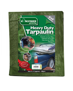 Kingfisher Heavy Duty Tarpaulin - 1.8 x 1.2m