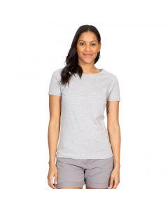 Trespass Ani Women's Printed T-Shirt - Grey Marl Dot