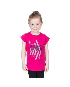 Trespass Naja Kid's Casual Printed T-Shirt - Pink Lady
