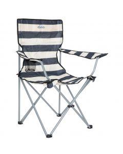 Trespass Branson Camping Chair Navy Stripe