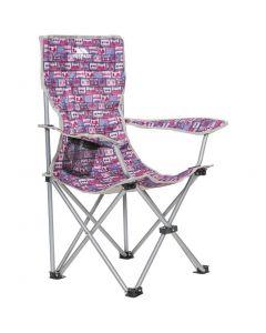 Trespass JoeJoe Folding Camping Chair Magenta