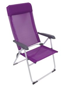 Navona High Back Chair - Purple