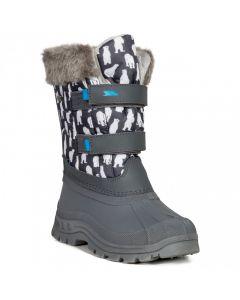 Trespass Vause Kids' Pull On Snow Boots - Polar Print