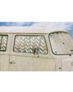 VW T2 Bay Window Campervan Thermal Window Mat - 8 Piece Set