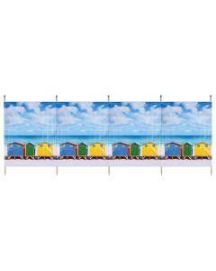 Yello Windbreaker - Beach Huts (4 Pole)