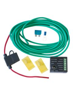 Towbar Split Charge Relay Wiring Kit - Self Switching