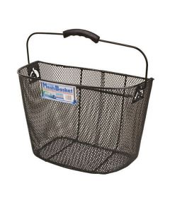 Oxford Wire Bicycle Basket - Black