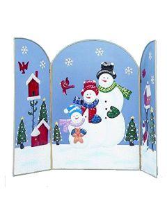 Premier Decorations Snowman Fireguard 63 cm