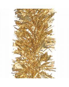 Gold Chunky 10cm Christmas Tinsel Silver - 2 Metres