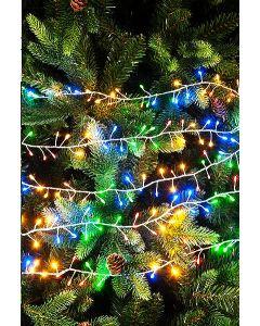 Festive 240 Silver Sparklebright Dewdrop Light-Multi LED's