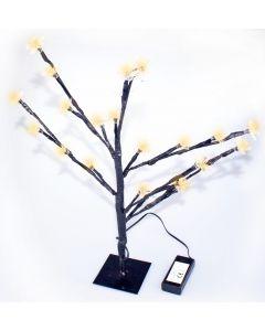 Festive 45cm Warm White Christmas Blossom Tree