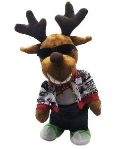 Festive Bo Animated Cool Reindeer 35cm