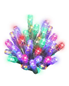 400 Multi-Coloured LED Indoor/Outdoor Christmas Lights