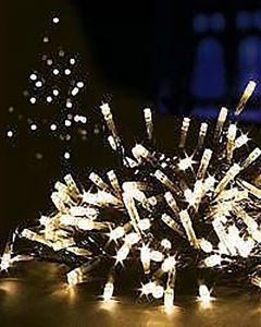 Premier Decorations 120 Supabrights LED Lights Warm White