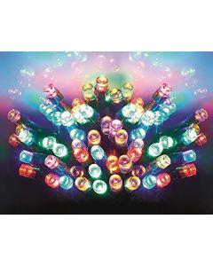 Premier Decorations 24 Multi-Coloured Battery Operated LED Lights