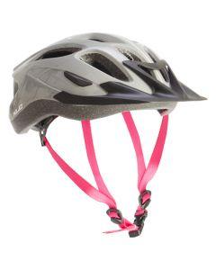 XLC C25 Cycle Helmet - Grey/Pink