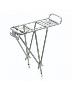 XLC Bike Luggage Carrier Pannier Rack Silver