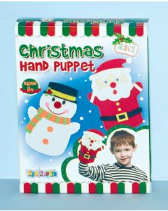 Make Your Own Xmas Felt Hand Puppets
