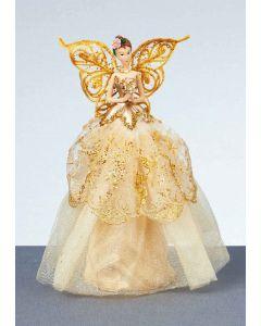 23cm Champagne Gold Angel in Box