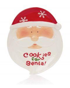 Premier Jolly Santa Cookies Plate