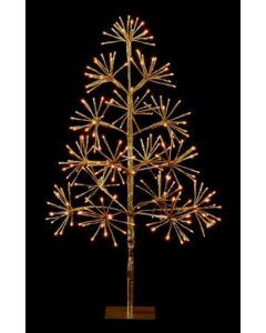 90cm LED Starburst Tree 256 Warm White LEDs