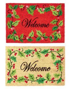 Xmas Welcome Door Mat