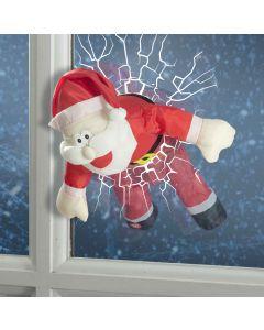 Animated Santa Through Window - 55cm