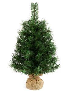 Premier 60cm Green Burlap Tree Table