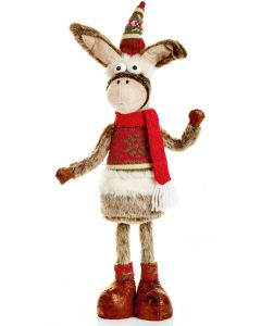 Premier Standing Donkey With Hat 45cm