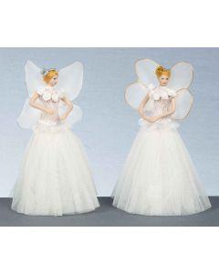 Xmas Tree Top Ballet Fairy - 20cm