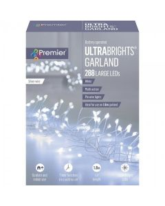 288 large LED ultrabright garland lights
