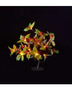Premier Decorations 45 cm Holly Leaf Tree