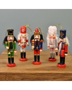 Christmas Nutcracker decoration set of 5