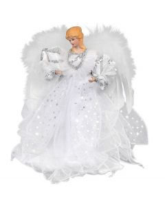 Premier Tree Top Angel White 30cm