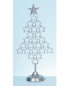 Premier Decorations Silver Tree Card Holder - 54cm