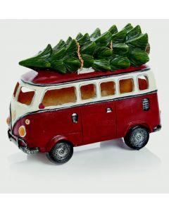 Premier Camper Van With Tree (20cm x 26cm)