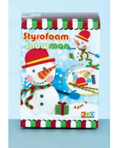 Styrofoam Make your Own Snowman Kit