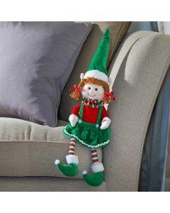 Smart Garden Seated Tinsel Elf