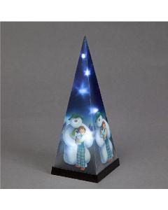 Snowtime Acrylic Snowman LEDs 57cm