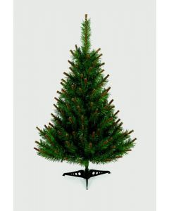 Premier Decorations 90 cm Table Top Christmas Tree With Pistle Tips