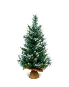 Premier Blue/Green Table Top Christmas Tree - 60cm