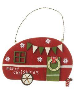 Heaven Sends Red Christmas Caravan Hanger