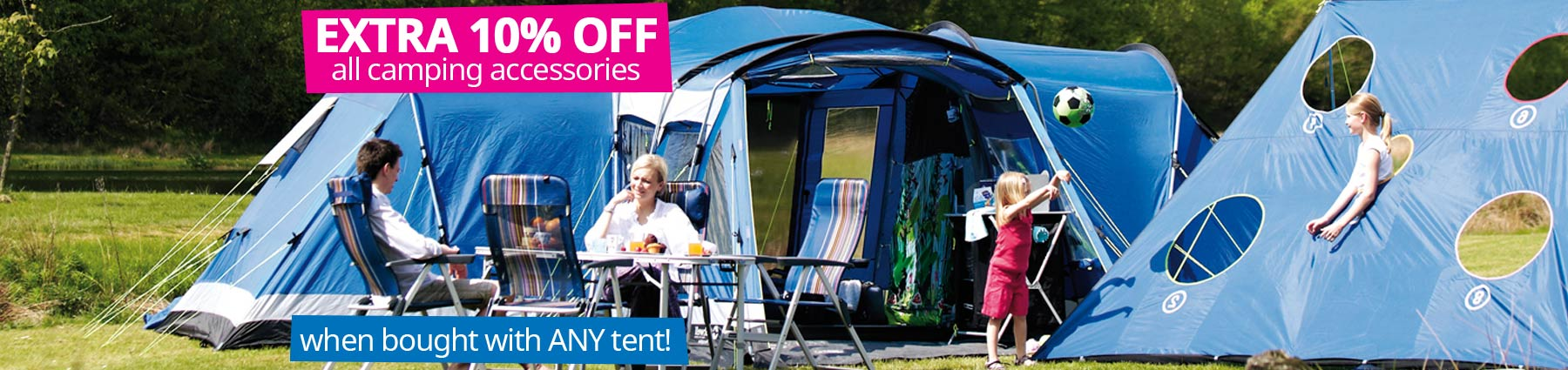 Home Large | 10% Off Camping
