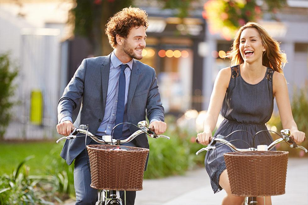 The Benefits of Cycle Commuting