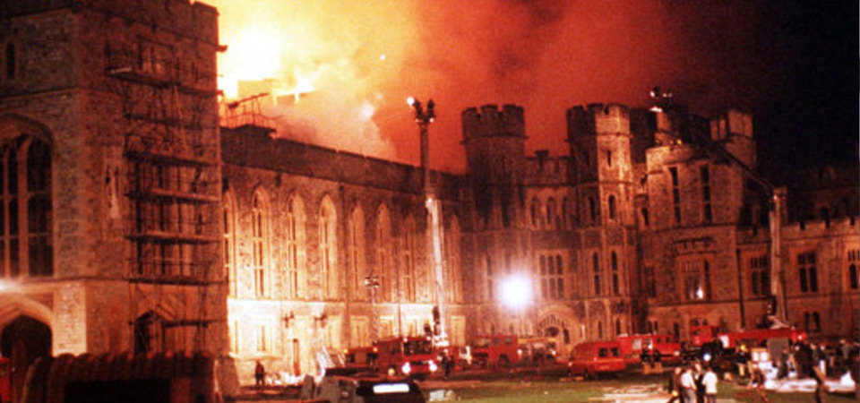 1992 Windsor Castle Fire