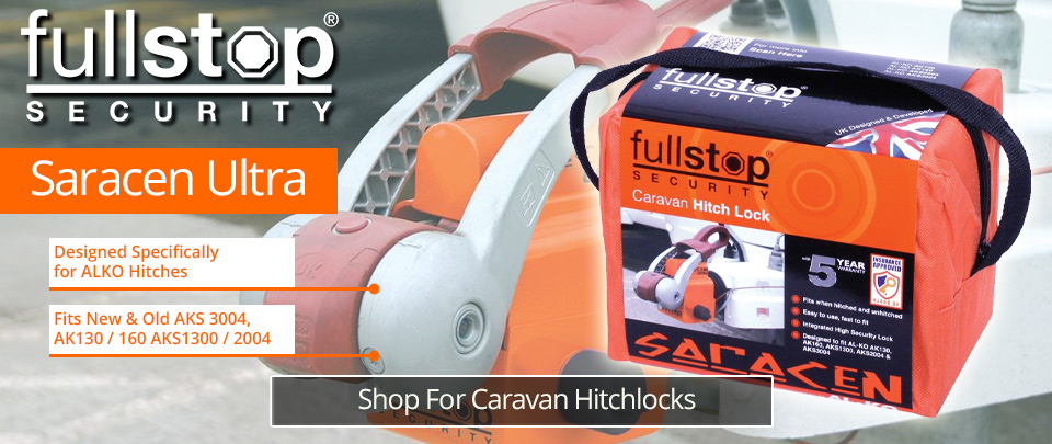 FullStop Saracen Hitchlock Caravan Security
